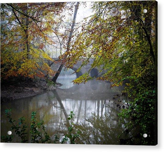 Foggy Jemison Park Acrylic Print