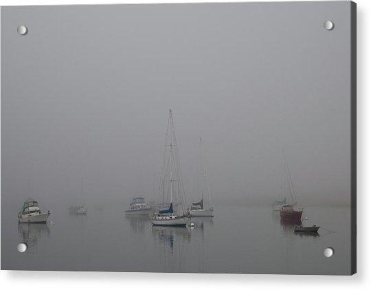 Waiting Out The Fog Acrylic Print