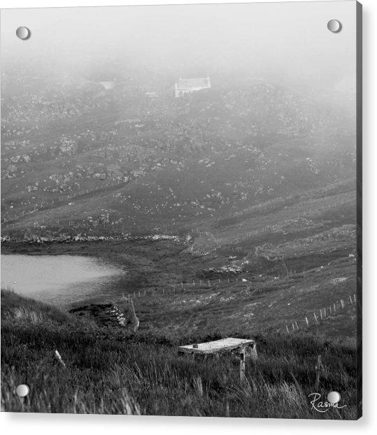 Foggy Scottish Morning Acrylic Print