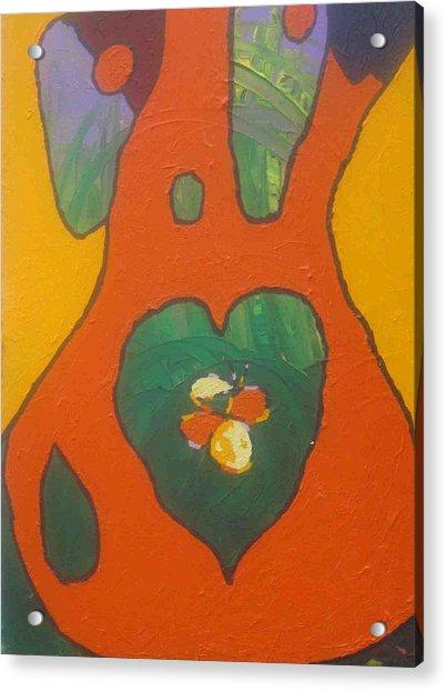Follow Your Heart Acrylic Print