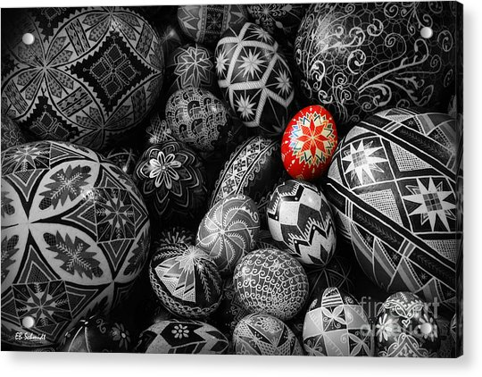 For The Love Of Pysanky Acrylic Print