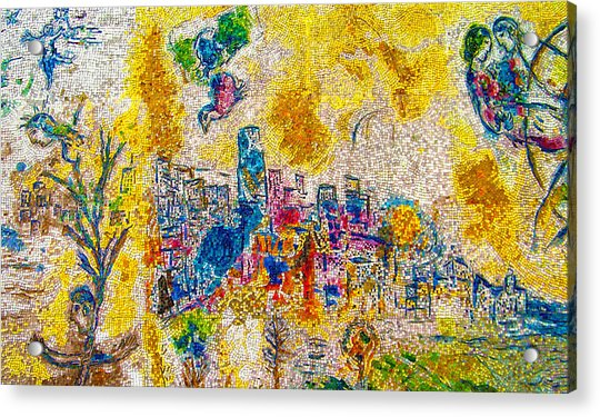 Four Seasons Chagall Acrylic Print