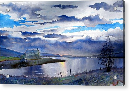 Four Seasons One Day At Grimwith Acrylic Print