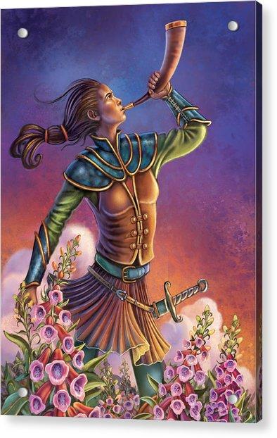 Foxglove - Summon Your Courage Acrylic Print