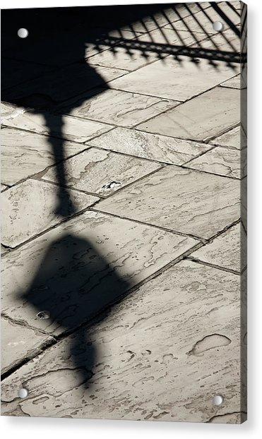 French Quarter Shadow Acrylic Print