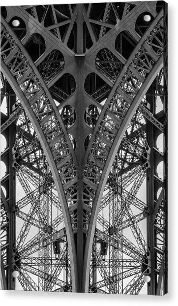 French Symmetry Acrylic Print
