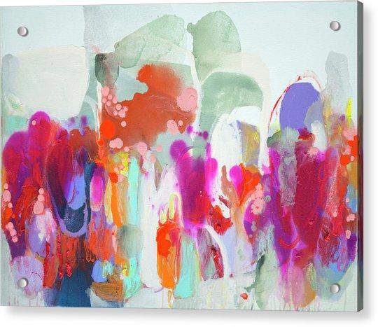 Frenzy Acrylic Print