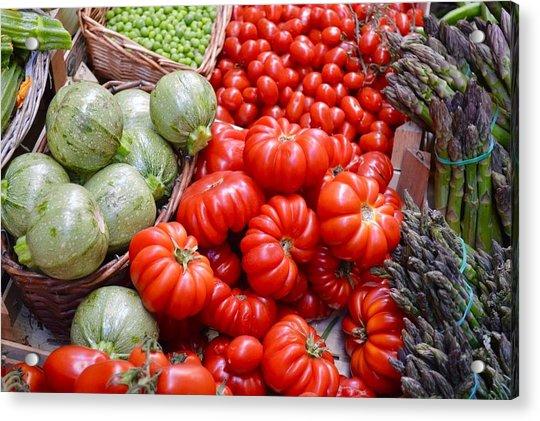 Fresh Vegetables Acrylic Print