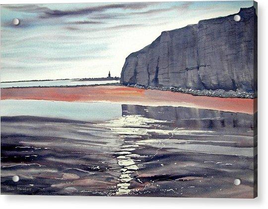 From Dane's Dyke Towards Bridlington Acrylic Print