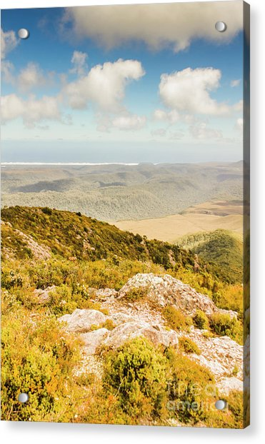 From Mountains To Seas Acrylic Print