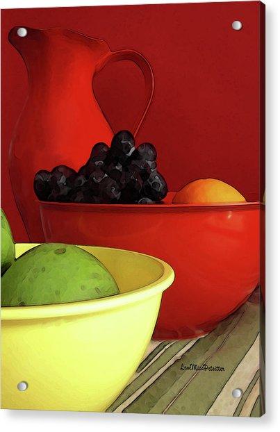 Fruit Art  Acrylic Print
