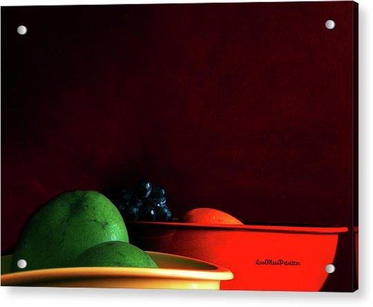 Fruit Art Photograph Acrylic Print