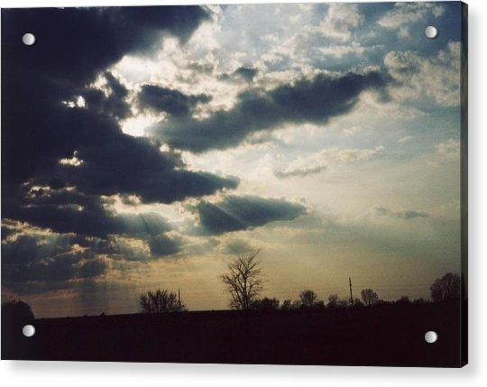 Gahanna Ohio Landscape Acrylic Print by Gene Linder