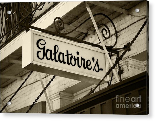 Galatoire's Friday Brunch Acrylic Print