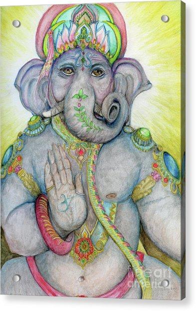 Ganesha Acrylic Print