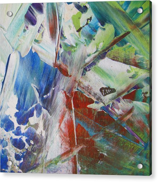 Garden Abstract 3 Acrylic Print