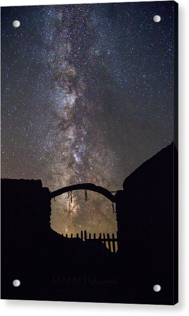 Gate Under The Stars Acrylic Print