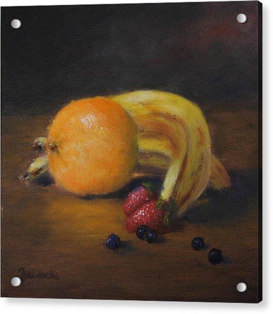 Gathering Of Fruit Acrylic Print