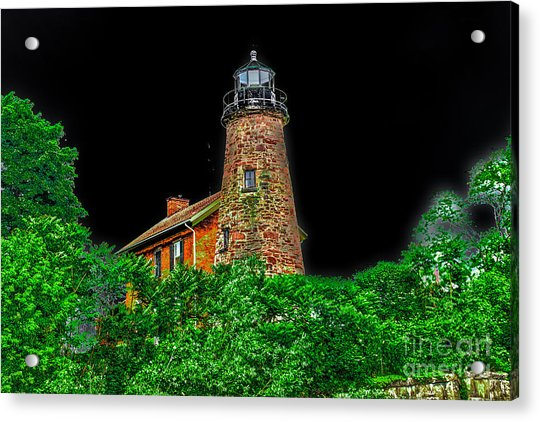 Genesee Lighthouse Acrylic Print