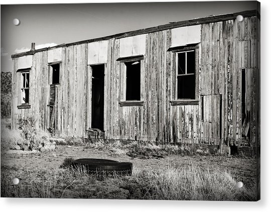Ghost Town Relic In Cuervo Acrylic Print