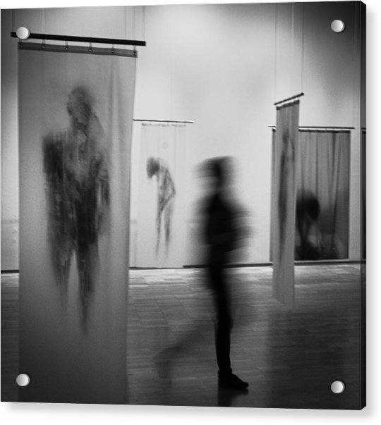 Ghosts Acrylic Print by Paco Palazon