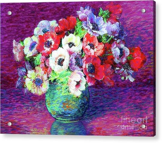 Gift Of Anemones Acrylic Print