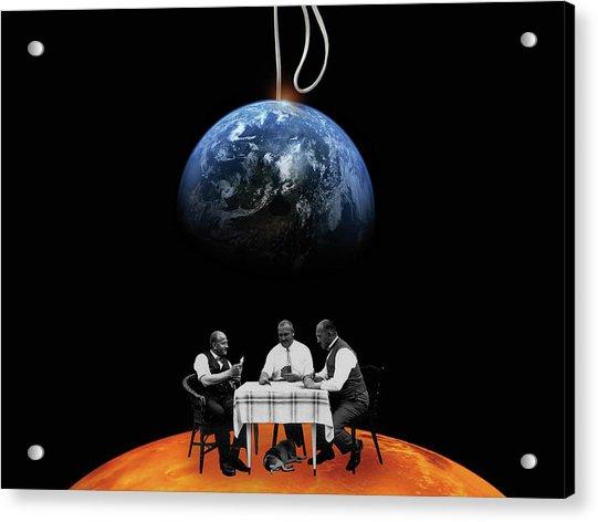 Global Gamblers Acrylic Print
