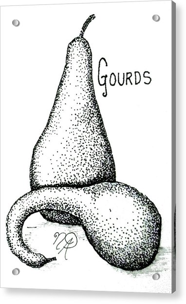 Glorious Gourds Acrylic Print