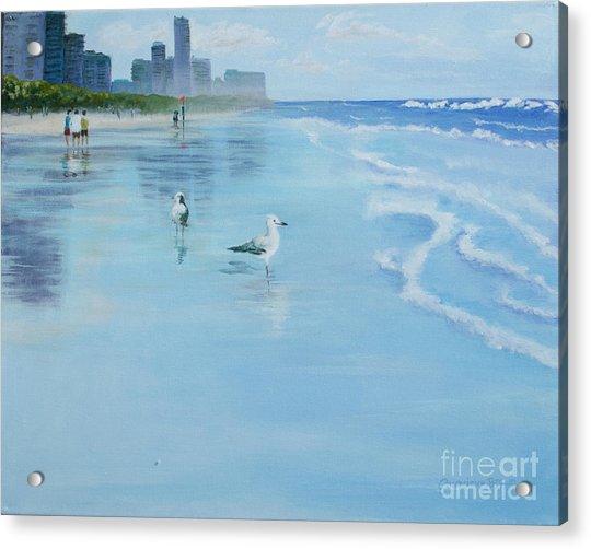 Gold Coast Australia, Acrylic Print