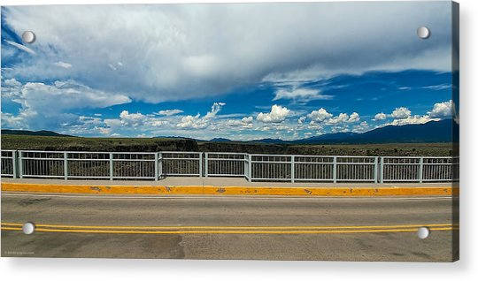 Gorge Bridge North View Acrylic Print