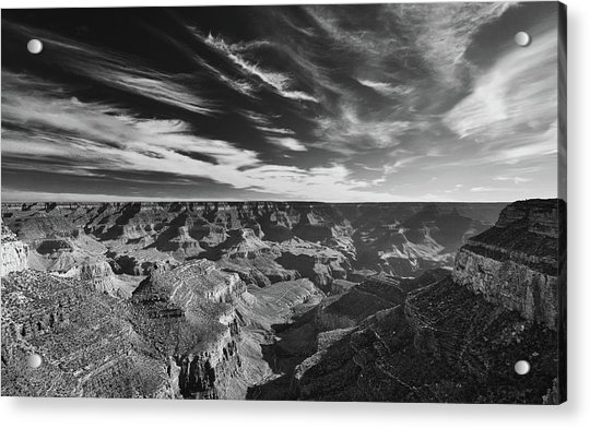 Grand Canyon In Motion Acrylic Print