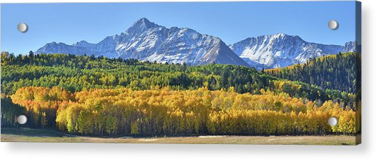 Grand Wilson Mesa Landscape Acrylic Print