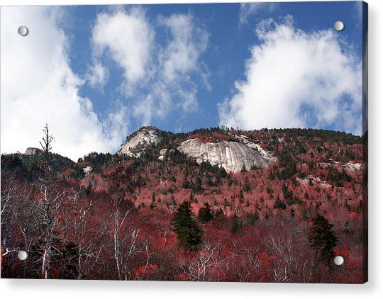 Grandfather Mountain East Side Acrylic Print