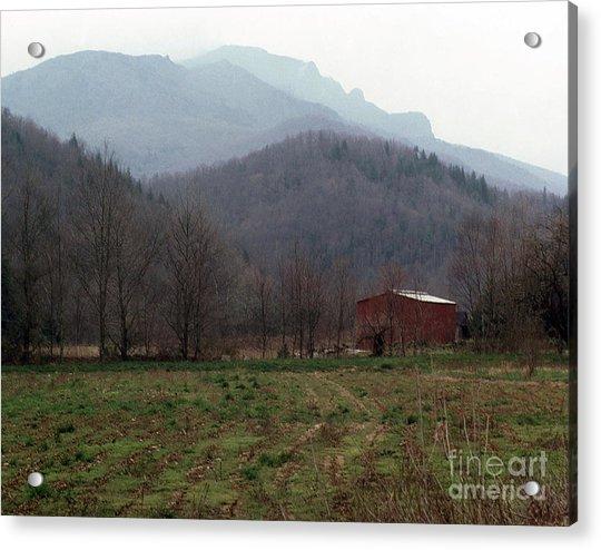 Grandfather Mountain Acrylic Print