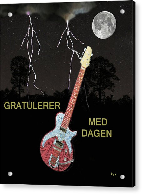 Gratulerer Med Dagen Acrylic Print