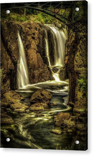 Great Falls Close Up Acrylic Print