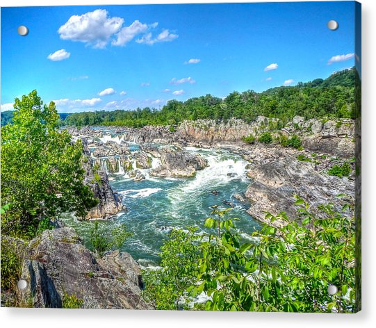 Great Falls On The Potomac Acrylic Print