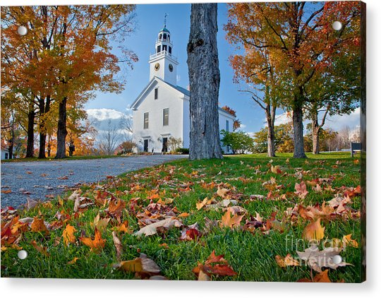 Greenfield Church Acrylic Print