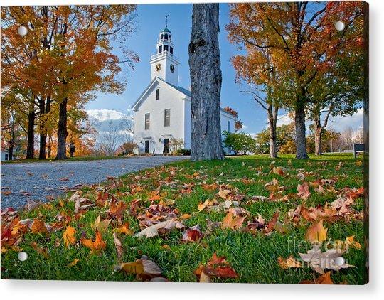 Greenfield Church Acrylic Print