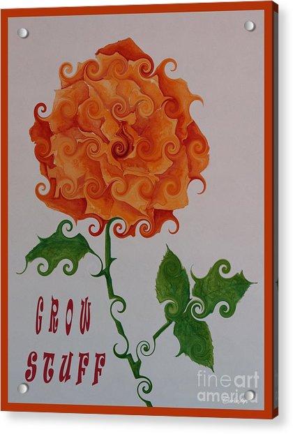 Grow Stuff Acrylic Print
