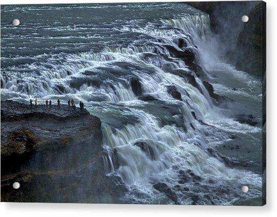 Gullfoss Waterfall #6 - Iceland Acrylic Print