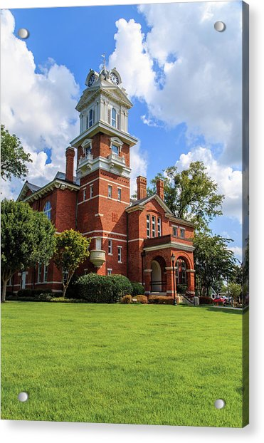 Gwinnett County Historic Courthouse Acrylic Print