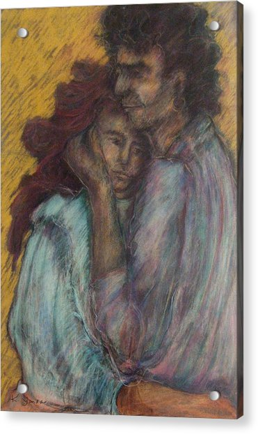 Gypsie Lovers Acrylic Print