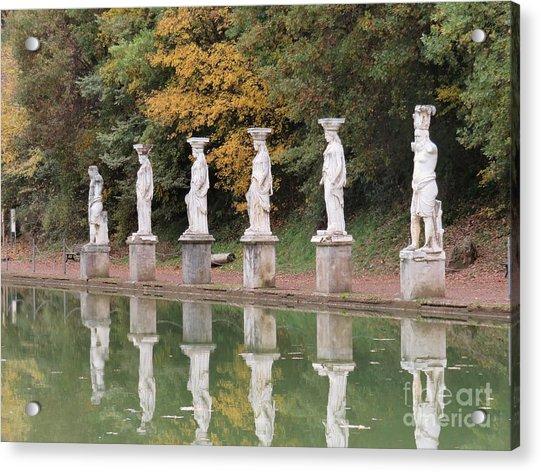 Hadrian's Villa 4 Acrylic Print