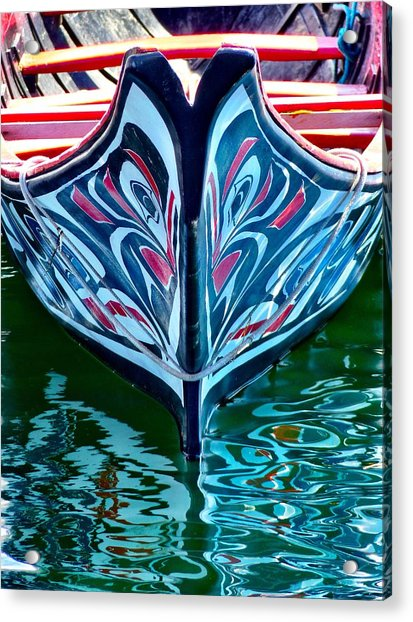 Haida Canoe Acrylic Print