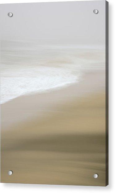 Half Moon Bay - Impressions Acrylic Print