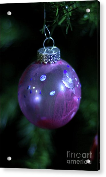 Handpainted Ornament 002 Acrylic Print