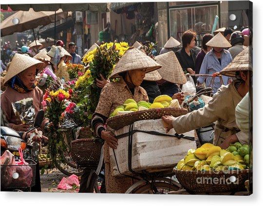 Hanoi Market 02  Acrylic Print