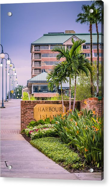 Acrylic Print featuring the photograph Harbour Island Retreat by Carolyn Marshall