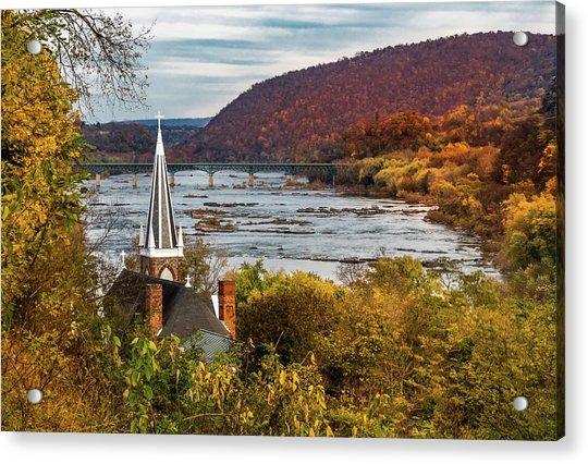 Harpers Ferry, West Virginia Acrylic Print